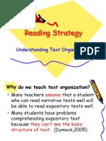 Understanding Text Organization