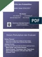 KONTRAK PERKULIAHAN_Statistika Dan Probabilitas_S1 Gasal 2016
