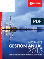 PDVSA Annual Report 2015