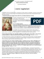 Gesù e i Cristiani Erano Vegetariani – the ILLUMINIST BLOGGER