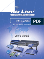 AirLive WIAS-1200G 802.11G Internet Access Server