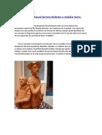 Manuel Serrano Ballester y la escultura