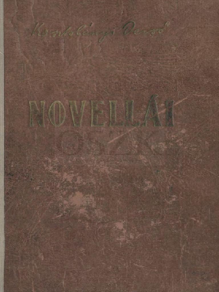 Kosztolányi Dezső- Kosztolányi Dezső Novellái 50934af0a6