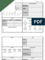 fepease first meeting sheet