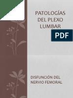 Patologias Del Plexo Lumbar