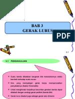 Bab3-Gerak lurus.ppt