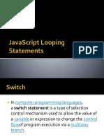 JavaScript Looping Statements