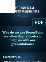 how to make great powerpoint presentations