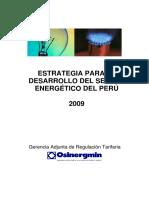 Estrategia Desarrollo Energetico Peru