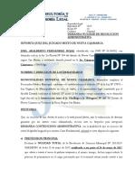 Demanda Nulidad de Acto Administrativo - Joel Adalberto Fernandez Rojas (Rotacion de Cargo a Policia Municipal)