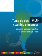 cambio climatico en america latina