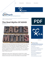 The Real Myths of ADHD _ AllPsych
