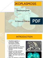 Toxoplasma Msc Ppt
