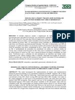 Semeadura de Milho Em Sistemas Convencional e Direto Visando a Mecanização Para Agricultura de Precisão
