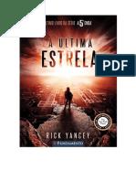 A Última Estrela - Rick Yancey