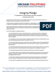 AmCham Integrity Pledge
