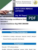 L 5 Tata Cara Menulis Laporan, 5 Sept 2013