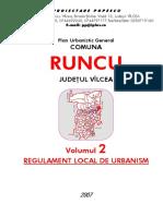 Volumul 2 Regulament Local de Urbanism