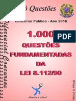 #1.000 Questões Fundamentais da Lei 8.112-90 (2016) - Diferencial Concursos.pdf