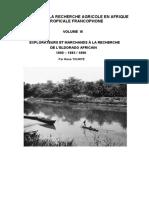 Histoire de La Recherche Agricole en Afrique