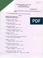 Sanskrit Paper II