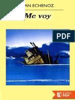 Echenoz, Jean - Me voy.pdf