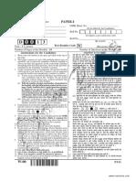 Cbse Ugc Net Paper i Set w December 2013