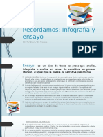 Ensayo e Infografía