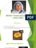Mother Teresa of Calcutta (1910-1997)