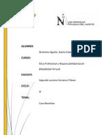 Desarrollo de La Tarea M004 -ETICA Y RESPONSABILIDAD
