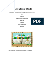 Super Mario World Parituras