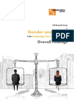 Csa Research Survey on Gender and Family Overall Findings