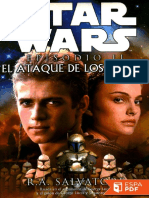 Star Wars Episodio II El Ataque - R.a. Salvatore