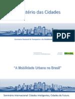A Mobilidade Urbana No Brasil