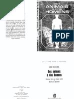 UEXKüLL, Jacob Von - Dos animais e dos homens.pdf