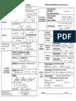 Formulas Mate III