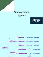 Nomenclatura Hidrocarburos