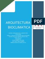 ARQ BIOCLIMATICA