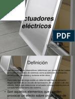 Actuador Electrico Pablo Auden