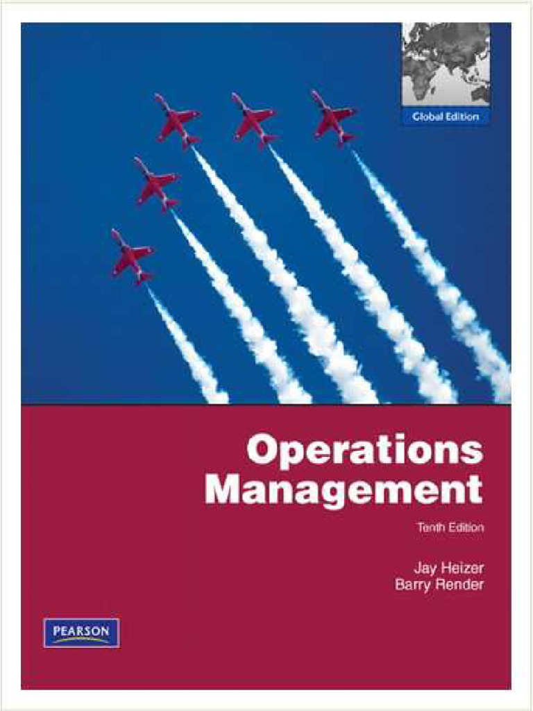 62905_Operations Management 10th Ed - Jay Heizer, Barry Render (Pearson,  2011)