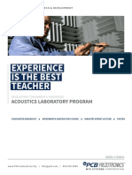 Acoustics Laboratory Program
