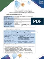 Guía Actividades y Rúbrica de Evaluación. Paso 1.Caracterización Del Proceso