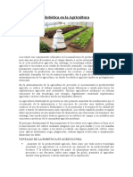 Robotica en La Agricultura