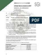 Informe de Chicchimarac -Sipascancha