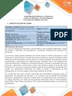 Syllabus Del Curso Matematica Financiera