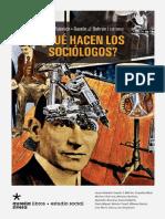 Que Hacen Los Sociologos Ru Be 28 Mar 2016