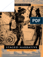 James Barrett-Staged Narrative_ Poetics and the Messenger in Greek Tragedy-University of California Press (2002)