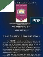 Estudo dos Painéis no Grau de A.'. M.'. GOB.pps