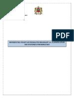 Referentiel Fixant Les Modalites Regissant La Classification Des Systemes d Information