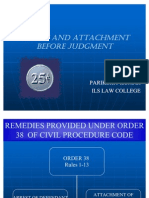 Arrest and Attachment Before Judgment